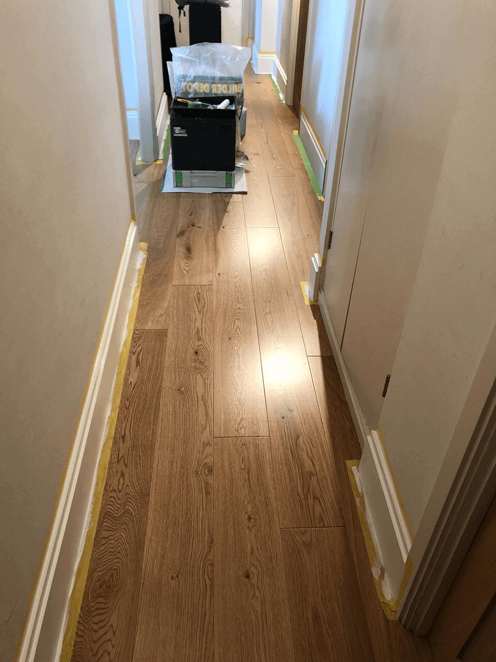 Wooden Floor Hallway