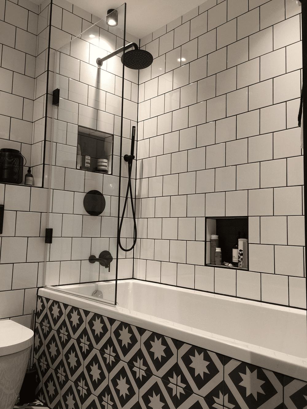 Ground View of Medium Bathroom Refurb