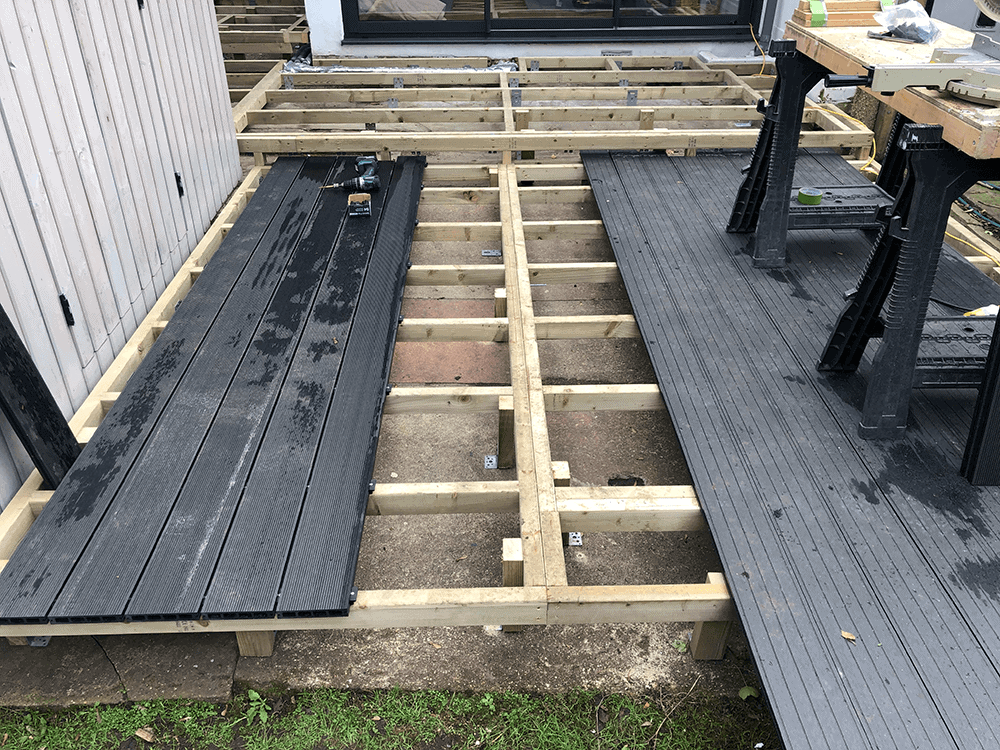 Composite & Wood Decking Installations