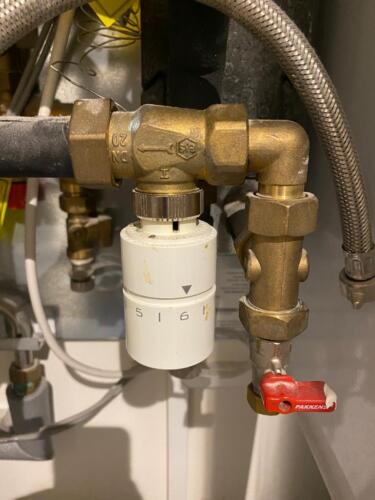 DAF HIU Repair Thermostatic Control Valve Replacement in London